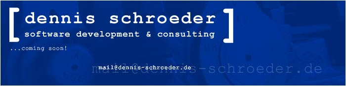 Dennis Schroeder - Software Development & Consulting